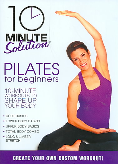 10 MINUTE SOLUTION:PILATES FOR BEGINN BY 10 MINUTE SOLUTION (DVD)